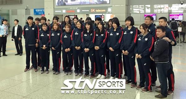 한국 여자배구대표팀 단체사진