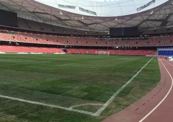 맨유는 오는 25일 중국 상하이 홍커우 스타디움에서 토트넘과 인터내셔널 챔피언스컵(ICC) 아시아투어를 갖는다. 홍커우 스타디움의 모습이다.